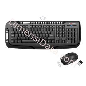 Jual Keyboard LEXMA Wireless Multimedia Desktop [LS8310R]